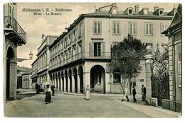 CPA 68 Haut-Rhin Mulhouse La Bourse Animé - Mulhouse