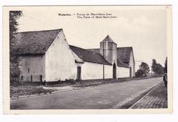 Jolie CPSM Belgique, Waterloo, Ferme De Mont-Saint-Jean - Waterloo