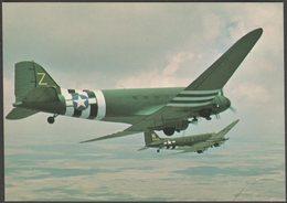 Douglas C-47 Skytrain/Sky Trooper - After The Battle Postcard - 1939-1945: 2nd War