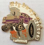 HIGHWAY RIDERS - VIOLETTE - LUZERN - LUCERNE - SWISS - SCHWEIZ - SUISSE -  CARS - VOITURE -               (ROSE) - Badges
