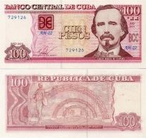CUBA        100 Pesos        P-129f       2014         UNC - Cuba