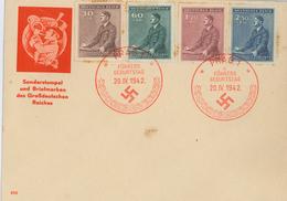 Hitler 53. Geburtstag - Bohême & Moravie