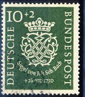 RFT-BRD 1950  UN Serie N.7 Usato Cat. € 50 - Gebraucht