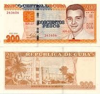 CUBA        200 Pesos        P-130       2010 (2015)         UNC - Cuba