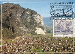 D33318 CARTE MAXIMUM CARD TRIPLE 1986 AUSTRIA - MOUNTAIN ST. MARTINSWAND ZIRL CP ORIGINAL - Geology