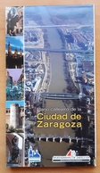 PLANO CALLEJERO DE LA CIUDAD DE ZARAGOZA (ESPAÑA) - Europa