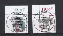 Deutschland BRD Gestempelt  2313-2314 Sehenswürdigkeiten Eckrand - BRD