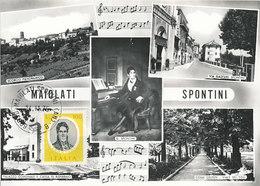 D33323 CARTE MAXIMUM CARD 1975 ITALY - COMPOSER SPONTINI CP ORIGINAL - Music