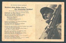 Feldpostkarte Mit Soldatenlied  (8102) - Germany