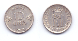 Norway 10 Ore 1919 - Norvège