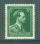 "BELGIE - OBP Nr 646 - Leopold III - Type ""Open Kraag"" - MNH** - Cote 9,00 € - 1936-1957 Col Ouvert"