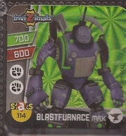 IMAN, Magnet, INVIZIMALS The Resistance, De PANINI, 114 Blastfurnace Max (segundo) - Magnetos