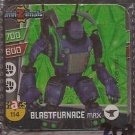 IMAN, Magnet, INVIZIMALS The Resistance, De PANINI, 114 Blastfurnace Max (tercero) - Magnetos