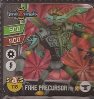 IMAN, Magnet, INVIZIMALS The Resistance, De PANINI, 118 Face Precursor Max (segundo) - Magnets