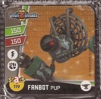 IMAN, Magnet, INVIZIMALS The Resistance, De PANINI, 119 Fanbot Pup - Magnetos