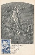 D33329 CARTE MAXIMUM CARD 1945 FRANCE - LIBERATION CP ORIGINAL - Maximum Cards