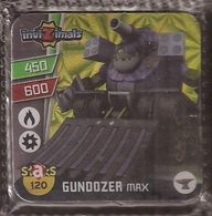 IMAN, Magnet, INVIZIMALS The Resistance, De PANINI, 120 Gundozer Max - Magnets