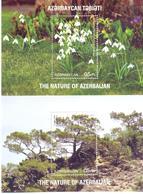 2017. Azerbaijan, Flora Of Azerbaijan, 2 S/s, Mint/** - Azerbaïjan