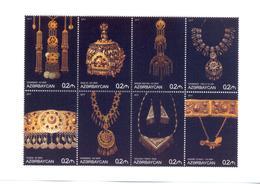 2017. Azerbaijan, Jewerly Of Azerbaijan, Sheetlet, Mint/** - Azerbaïjan
