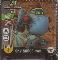 IMAN, Magnet, INVIZIMALS The Resistance, De PANINI, 131 Sky Sarge Max (tercero) - Magnetos