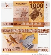 FRENCH PACIFIC TERRITORIES     1000 Francs CFP     P-6   ND (2014)   UNC  [sign. 14] - Territori Francesi Del Pacifico (1992-...)