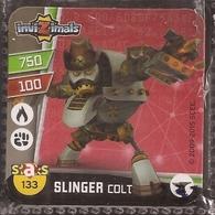 IMAN, Magnet, INVIZIMALS The Resistance, De PANINI, 133 Slinger Colt - Magnetos