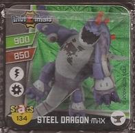 IMAN, Magnet, INVIZIMALS The Resistance, De PANINI, 134 Steel Dragon Max - Sin Clasificación