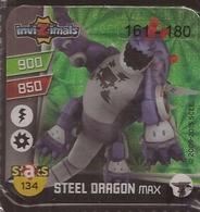 IMAN, Magnet, INVIZIMALS The Resistance, De PANINI, 134 Steel Dragon Max (segundo) - Magnetos