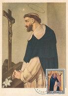 D33332 CARTE MAXIMUM CARD 1970 VATICAN - SAN DOMINICO DI GUZMAN CP ORIGINAL - Christianity