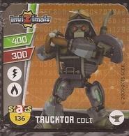 IMAN, Magnet, INVIZIMALS The Resistance, De PANINI, 136 Trucktor Colt - Sin Clasificación