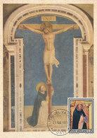 D33334 CARTE MAXIMUM CARD 1971 VATICAN - SAN DOMINICO DI GUZMAN CP ORIGINAL - Christianity