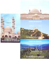 2017. Azerbaijan, The Architecture Of Azerbaijan, 4 S/s, Mint/** - Azerbaïjan