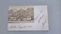 CARTOLINA CONVITTO NAZIONALE D'AOSTA - Aosta