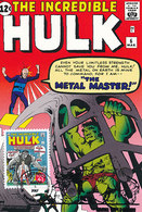 D33335 CARTE MAXIMUM CARD TRIPLE 2007 USA - COMICS THE HULK CP ORIGINAL - Comics