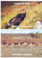 2017. Azerbaijan, Fauna Of Azerbaijan, 2 S/s,  Mint/** - Azerbaïjan