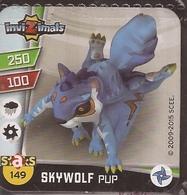 IMAN, Magnet, INVIZIMALS The Resistance, De PANINI, 149 Skywolf Pup - Magnets