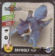 IMAN, Magnet, INVIZIMALS The Resistance, De PANINI, 149 Skywolf Pup (segundo) - Magnetos