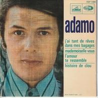 S Adamo J'ai Tant De Rêves Dans Mes Bagages - Special Formats