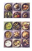 2017. Azerbaijan, Cuisine Of Azerbaijan, 2 Sheetlets Of 9v,  Mint/** - Azerbaïjan