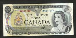 Banque Du CANADA / Bank Of CANADA - One DOLLAR (OTTAWA 1973) - Canada
