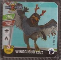 IMAN, Magnet, INVIZIMALS The Resistance, De PANINI, 158 Wingcloud Colt - Magnets