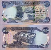 IRAQ       5000 Dinars       P-100       2013 / AH1435       UNC - Iraq