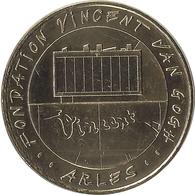 2018 MDP162 - ARLES - Fondation Vincent Van Gogh / MONNAIE DE PARIS - Monnaie De Paris
