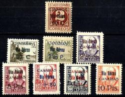 España Canarias Nº 44/51 En Nuevo - 1931-Hoy: 2ª República - ... Juan Carlos I