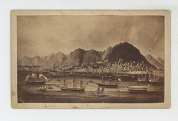 ASIE - CHINE - CHINA - Vue De HONG KONG  Sur Support Cartonné Format 10,2X6,2 Cm - China (Hong Kong)