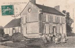 LA VILLENEUVE AU CHENE - L'ECOLE DES FILLES - BELLE CARTE ANIMEE - - Frankreich
