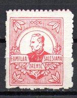 Viñeta De Familia Salesiana Orense - España