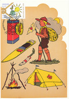 D33350 CARTE MAXIMUM CARD 2007 NETHERLANDS - DUTCH SCOUTING SPEC. POSTMARK CP ORIGINAL - Maximum Cards