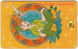 ISRAEL B-146 Hologram Bezeq - Cinema, Walt Disney, Peter Pan - 947C - Used - Israel