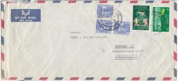 Burma, Airmail Letter Cover Travelled 196? B180410 - Myanmar (Burma 1948-...)